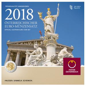 Coffret BU Autriche 2018 (zoom)