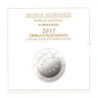 (EUR16.CofBU&FDC.2017.Cof-BU.000000002) Coffret BU Slovénie 2017 Recto