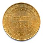 (FMED.Méd.tour.2016.CuAlNi1.2.1.000000002) Jeton touristique - Mickey et Disneyland Paris Revers