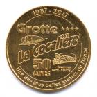(FMED.Méd.tourist.2017.CuAlNi2.1.000000002) Jeton touristique - Grotte de la Cocalière Avers