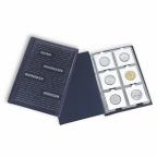 (MAT01.Alb&feu.Alb.325026) Album de poche Leuchtturm NUMIS bleu
