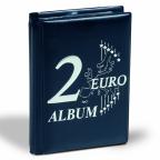 (MAT01.Alb&feu.Alb.350454) Album de poche Leuchtturm - 2 euro commémoratives (fermé)