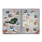(MATMünzeÖ.Alb&feu.Alb.20983) Album collector Monnaie d'Autriche - 5 et 10 euro Autriche cuivre (ouvert)