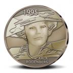 (MED14.Méd.KNM.2010.CuSn1) Médaille bronze patiné - Beatrix, par Carla Rodenberg Revers