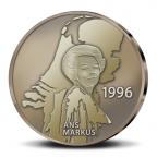 (MED14.Méd.KNM.2010.CuSn3) Médaille bronze patiné - Beatrix, par Ans Markus Revers