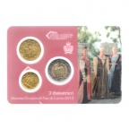 (EUR18.MK.2013.10.000000002) Mini-kit 10 cent, 50 cent et 2 euro Saint-Marin 2013 BU - Arbalétriers Recto