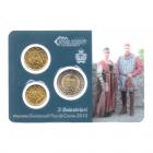 (EUR18.MK.2013.8.000000002) Mini-kit 10 cent, 20 cent et 2 euro Saint-Marin 2013 BU - Arbalétriers Recto