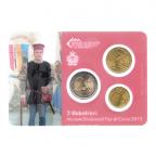 (EUR18.MK.2013.9.000000002) Mini-kit 10 cent, 50 cent et 2 euro Saint-Marin 2013 BU - Arbalétriers Verso
