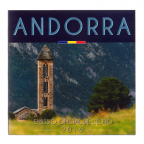 (EUR24.CofBU&FDC.2016.Cof-BU.cp5.10376) Brilliant Uncirculated coin set Andorra 2016 Front