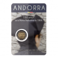 (EUR24.ComBU&BE.2016.200.BU.COM1.cp5.19876) 2 euro commémorative Andorre 2016 BU - Réforme de 1866 Recto