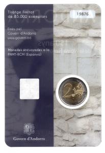 (EUR24.ComBU&BE.2016.200.BU.COM1.cp5.19876) 2 euro commémorative Andorre 2016 BU - Réforme de 1866 Verso (zoom)