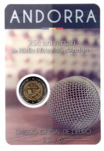 (EUR24.ComBU&BE.2016.200.BU.COM2.cp5.73044) 2 euro Andorre 2016 BU - Ràdio i Televisió d'Andorra Recto (zoom)