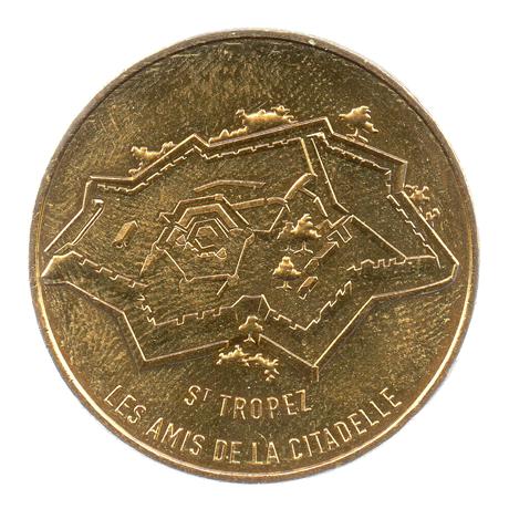 (FMED.Méd.souv.2016.CuAlNi1.3.1.000000002) Jeton touristique - Les Amis de la Citadelle Avers