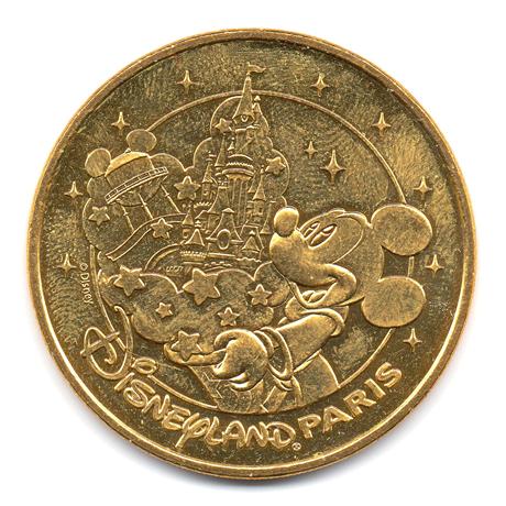 (FMED.Méd.tourist.2017.CuAlNi2.1.-1.000000002) Jeton touristique - Mickey et Disneyland Paris Avers
