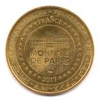(FMED.Méd.tourist.2017.CuAlNi2.1.-1.000000002) Jeton touristique - Mickey et Disneyland Paris Revers