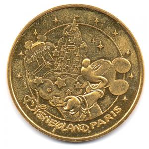 (FMED.Méd.tourist.2017.CuAlNi2.1.-1.000000002) Tourism token - Mickey & Disneyland Paris Obverse (zoom)