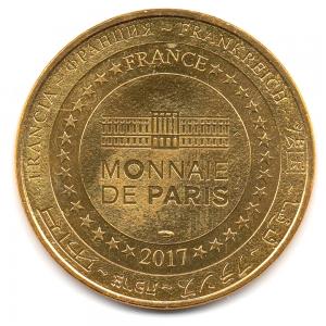 (FMED.Méd.tourist.2017.CuAlNi2.1.-1.000000002) Tourism token - Mickey & Disneyland Paris Reverse (zoom)
