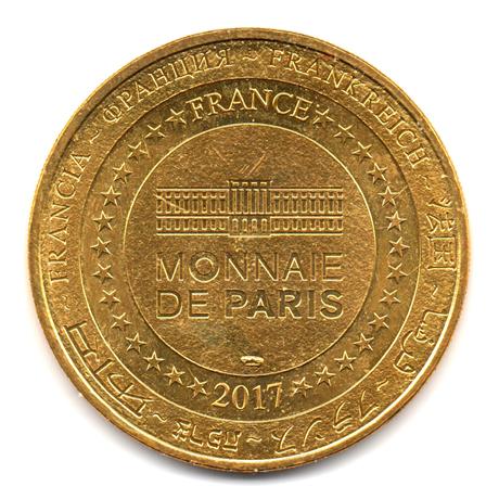 (FMED.Méd.tourist.2017.CuAlNi2.2.000000002) Jeton touristique - Minnie et le Carrousel de Lancelot Revers