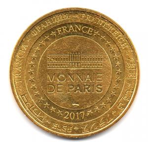 (FMED.Méd.tourist.2017.CuAlNi2.2.000000002) Lancelot's merry-go-round, in Disneyland Paris Reverse (zoom)