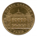 (FMED.Méd.tourist.2017.CuAlNi3.-1.000000002) Jeton touristique - Opéra Garnier Avers
