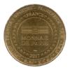 (FMED.Méd.tourist.2017.CuAlNi3.-1.000000002) Jeton touristique - Opéra Garnier Revers