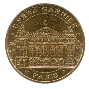 (FMED.Méd.tourist.2017.CuAlNi3.-1.000000002) Tourism token - Paris Opera Obverse (zoom)