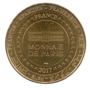 (FMED.Méd.tourist.2017.CuAlNi3.-1.000000002) Tourism token - Paris Opera Reverse (zoom)