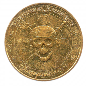 (FMED.Méd.tourist.2017.CuAlNi3.1.000000002) Pirates of the Caribbean, in Disneyland Paris Obverse (zoom)