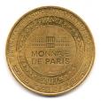 (FMED.Méd.tourist.2017.CuAlNi3.2.000000002) Jeton touristique - Ratatouille Revers