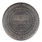 (FMED.Méd.tourist.2017.CuNi2.000000002) Jeton touristique - Monnaie de Paris Revers
