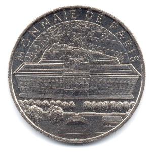 (FMED.Méd.tourist.2017.CuNi2.000000002) Tourism token - French Mint Obverse (zoom)