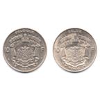 (LOT.W023.1000.1969.1.1.000000001) 10 Francs Baudouin 1969 (série des 2 légendes) Revers