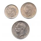 (LOT.W135.100à1000.1976.1.000000001) Série 1 Franc à 10 Francs Luxembourg 1976 Avers