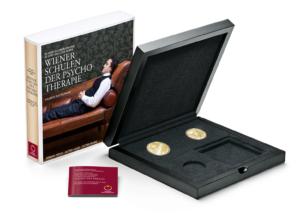 (MATMünzeÖ.Cofméd&écr.Ecr.22652) Ecrin collector Monnaie d'Autriche - Ecoles viennoises de psychothérapie (zoom)