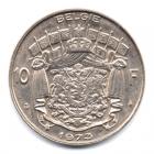(W023.1000.1973.1.1.000000002) 10 Francs Baudouin 1973 - Légende flamande Revers
