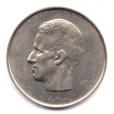 (W023.1000.1975.1.1.000000001) 10 Francs Baudouin 1975 - Légende flamande Avers