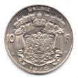 (W023.1000.1975.1.1.000000001) 10 Francs Baudouin 1975 - Légende flamande Revers