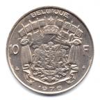 (W023.1000.1976.1.000000001) 10 Francs Baudouin 1976 Revers