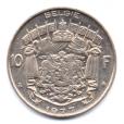 (W023.1000.1977.1.2.000000001) 10 Francs Baudouin 1977 - Légende flamande Revers