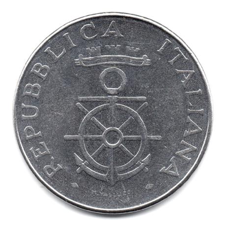 (W115.10000.1981.2.000000001) 100 Lire Académie navale de Livourne 1981 Avers