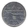 (W115.10000.1981.2.000000001) 100 Lire Académie navale de Livourne 1981 Revers