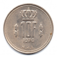 (W135.1000.1976.1.000000002) 10 Francs Grand-Duc Jean de Luxembourg 1976 Revers