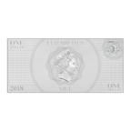 1 dollar Niue 2018 5 grammes argent BU - Cendrillon Avers