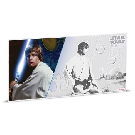 1 dollar Niue 2018 5 grammes argent BU - Luke Skywalker Revers