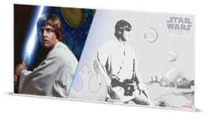 1 dollar Niue 2018 5 grams Brilliant Uncirculated silver - Luke Skywalker Reverse (additional picture) (zoom)