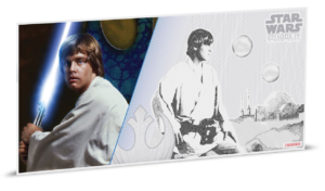 1 dollar Niue 2018 5 grams Brilliant Uncirculated silver - Luke Skywalker Reverse (zoom)