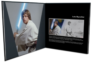 1 dollar Niue 2018 5 grams Brilliant Uncirculated silver - Luke Skywalker (open album) (zoom)