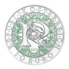 10 euro Autriche 2018 argent BE - Raphaël, ange guérisseur Avers