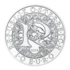 10 euro Autriche 2018 argent BU - Raphaël, ange guérisseur Avers