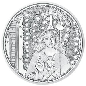10 euro Autriche 2018 argent BU - Raphaël, ange guérisseur Revers (zoom)